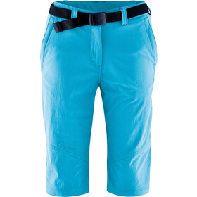 Maier Sports Lawa Bermuda long Femme, hawaiian ocean
